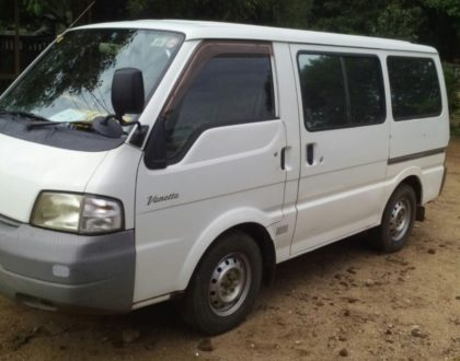 Cargo Van for Zimbabwe